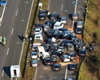 Что делать при аварии с участием нескольких авто